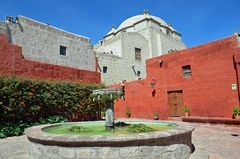 Unterwegs im Kloster Santa Catalina in Arequipa