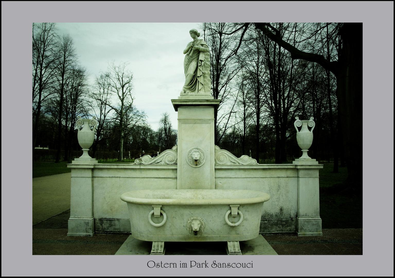 Unterwegs im Park Sanssouci
