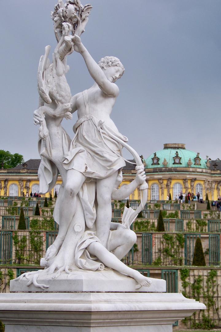 Unterwegs im Sanssouci