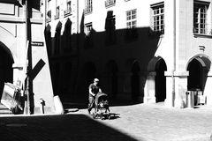 Unterwegs in Bern: aus dem Schatten treten...