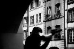 unterwegs in Bern: das Flötenspiel