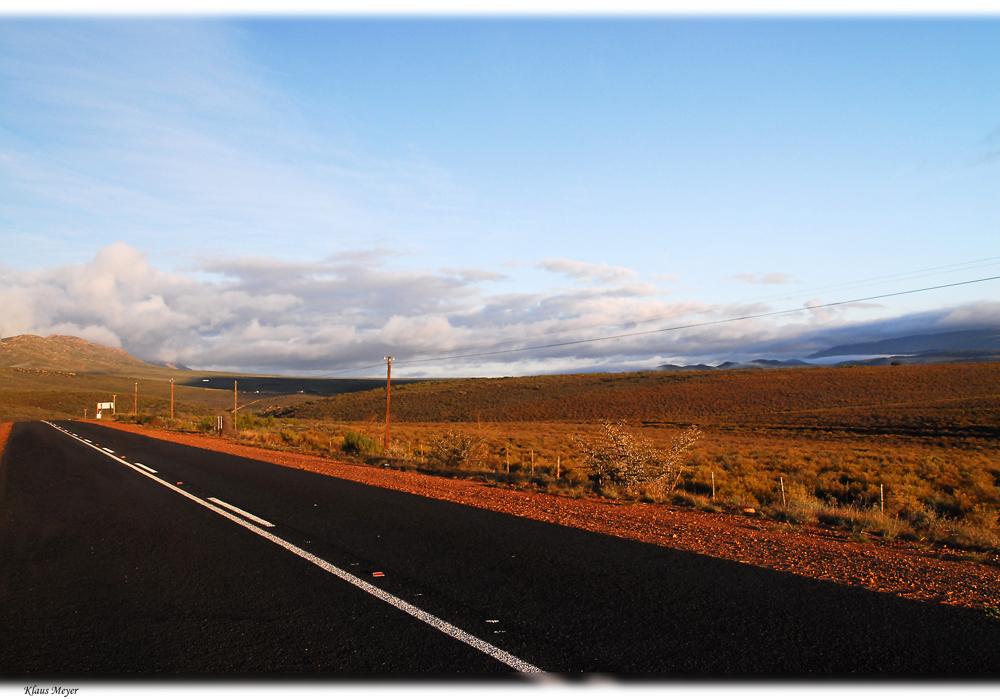 Unterwegs in der kleinen Karoo ....