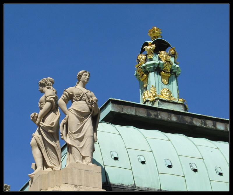 Unterwegs in Dresden....