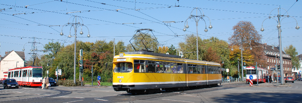 Unterwegs in Krefeld