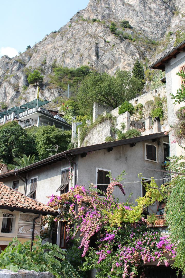unterwegs in Limone (Italien)