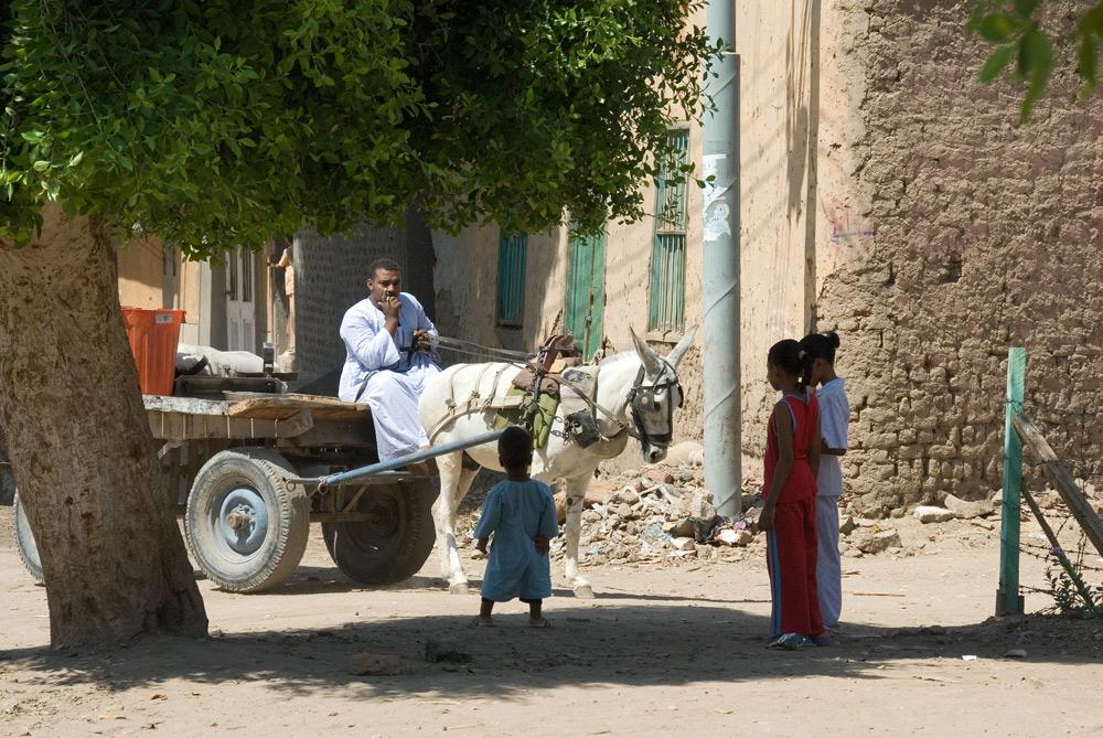 Unterwegs in Luxor