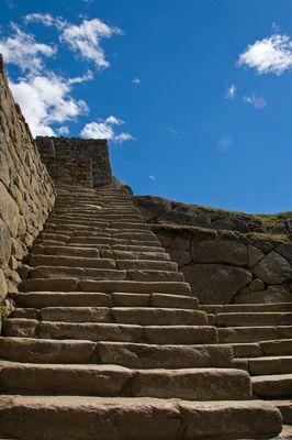 Unterwegs in Machu Picchu