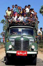 Unterwegs in Myanmar