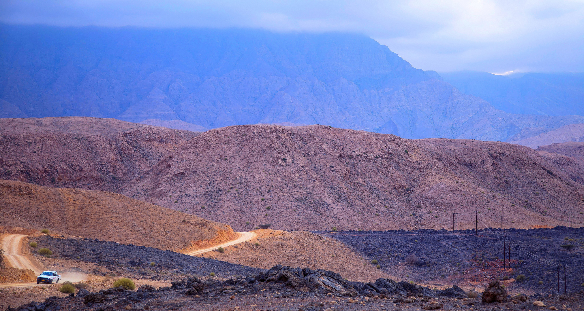 Unterwegs in Oman