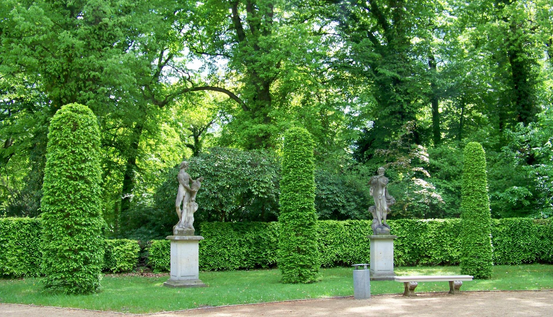 Unterwegs in Sanssouci, Potsdam