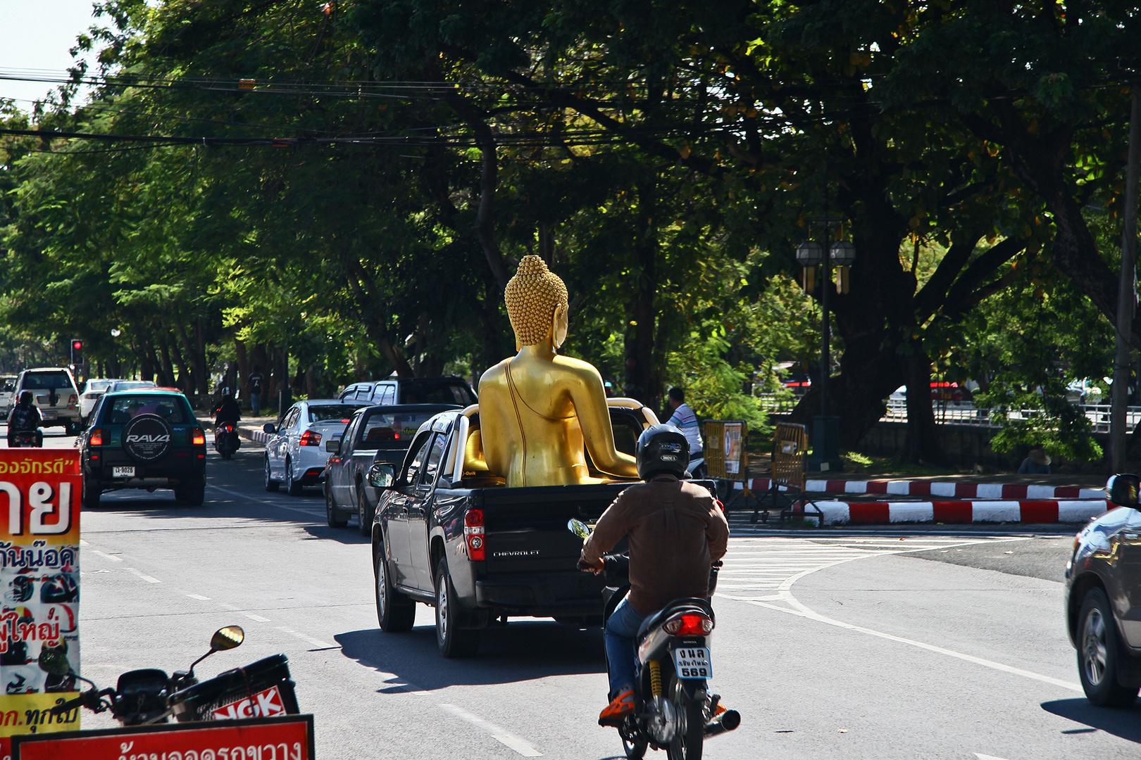 ...unterwegs mit Buddha...