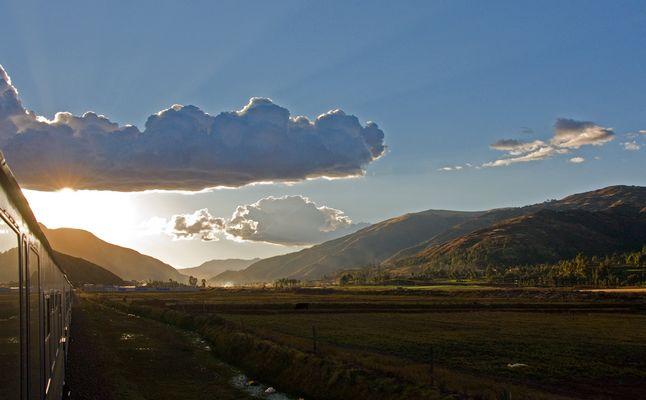 Unterwegs mit dem Andean Explorer 14