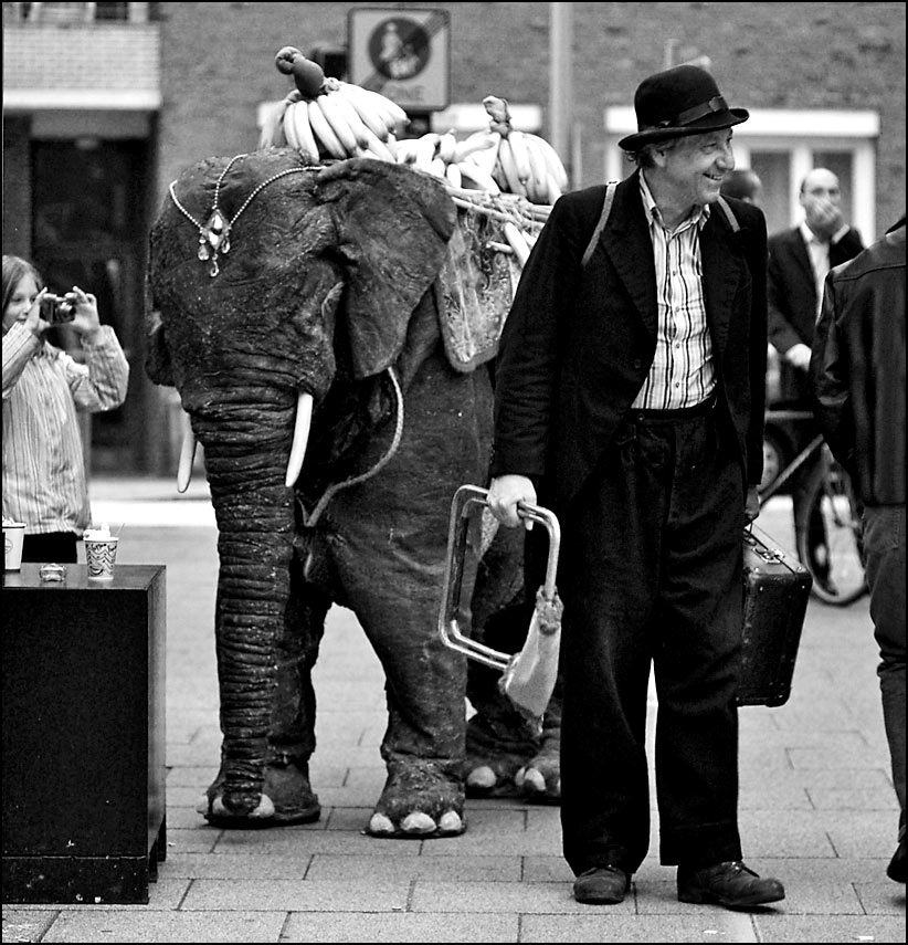 unterwegs mit  [k]..einem elefanten...