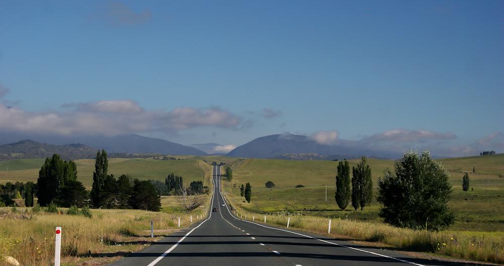 Unterwegs nach Canberra