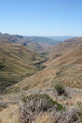 Unterwegs nach Lesotho