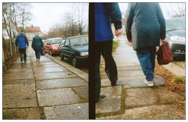 ~ unterwegs traf ich Oma und Opa ~