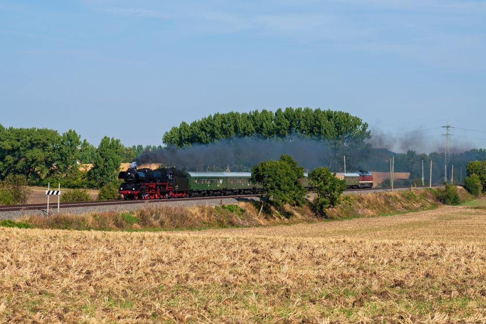 Unterwegs zu den Meininger Dampfloktagen
