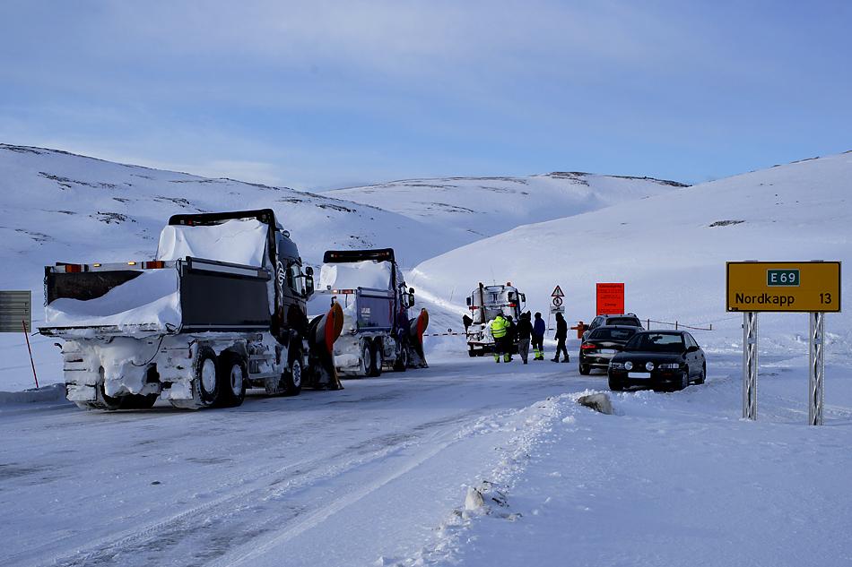 Unterwegs zum Nordkapp im Winter – Die letzten 13 Kilometer zum Nordkapp