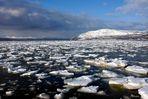 Unterwegs zum Nordkapp im Winter – Eismeer…..