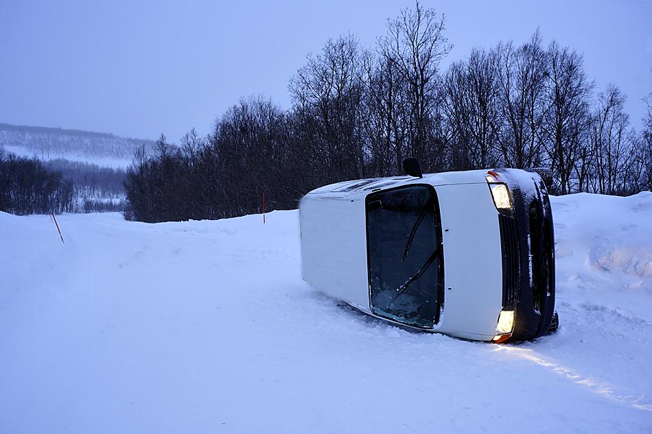 Unterwegs zum Nordkapp im Winter – Fahrfehler….