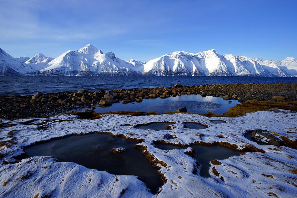 Unterwegs zum Nordkapp im Winter – Nord Norwegen Landschaftsimpression