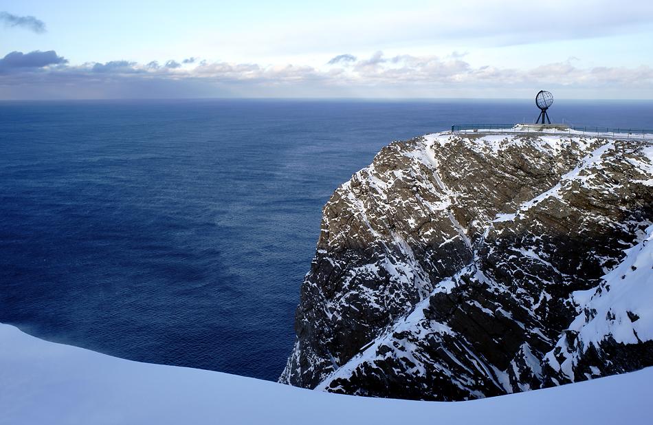 Unterwegs zum Nordkapp im Winter – Nordkapp erreicht