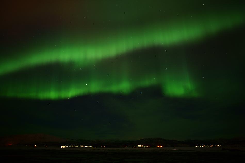 Unterwegs zum Nordkapp im Winter – Polarlichtnacht