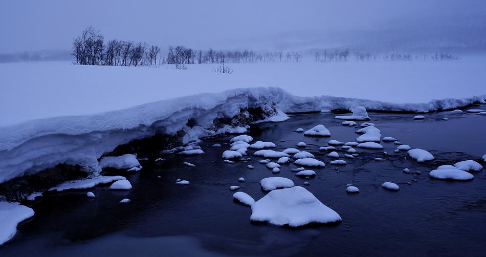 Unterwegs zum Nordkapp im Winter – Winterlandschaft