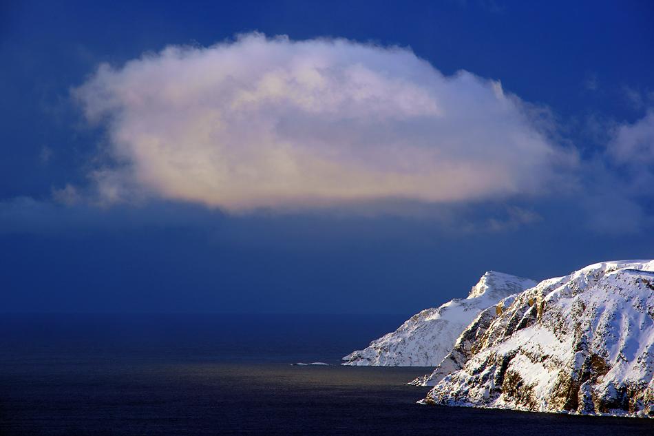 Unvergesslicher Moment - Unterwegs zum Nordkapp im Winter -