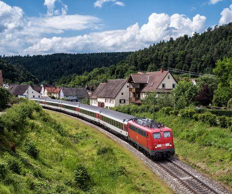 Unverkennbar: Ein Dorf in Württemberg