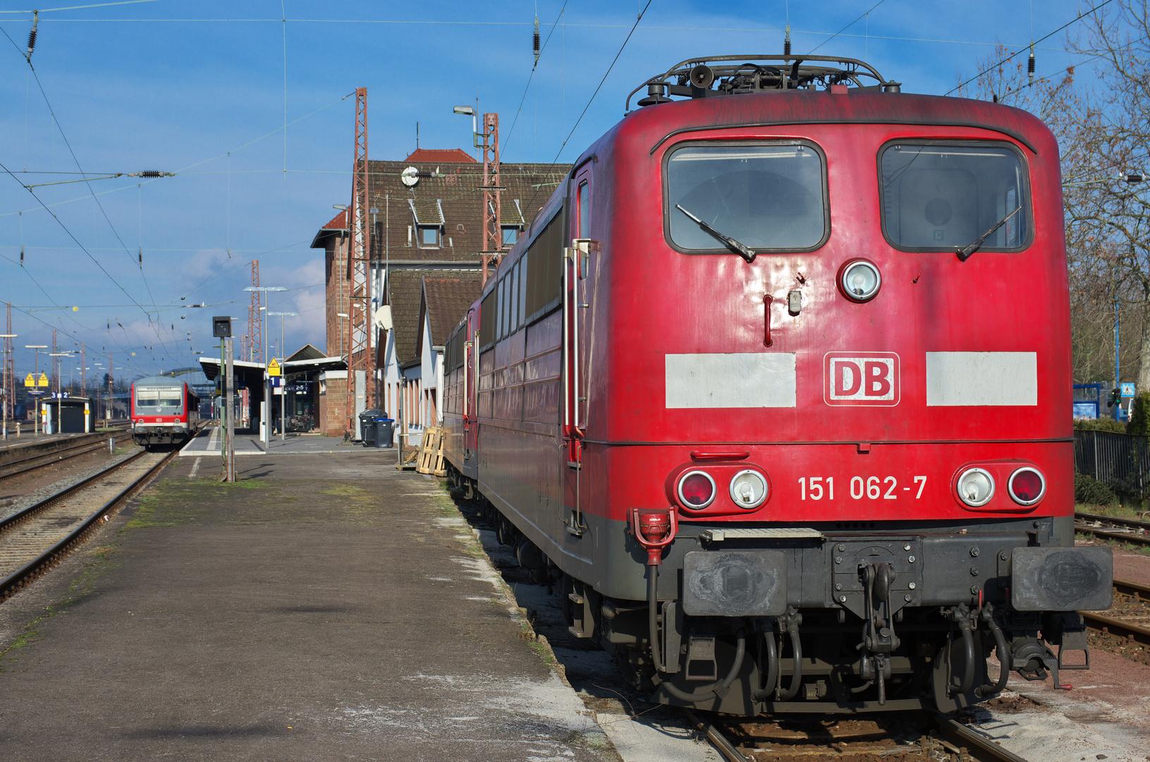 Unverzichtbar: Baureihe 151