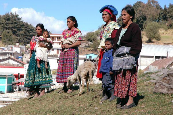 Unweit eines Viehmarktes in Guatemala