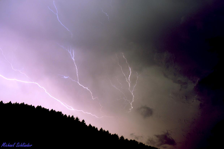 Unwetter am 09.06.2014