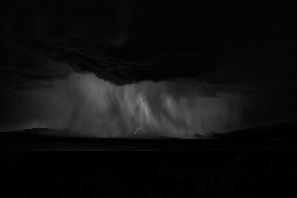 Unwetter am Lake Mead