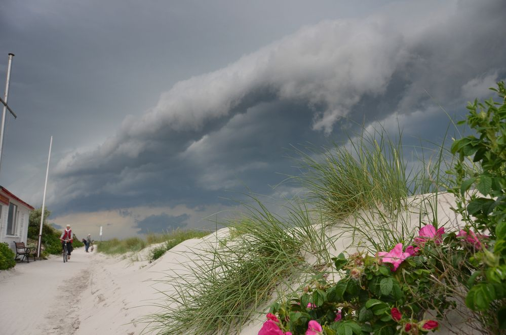 Unwetter Hiddensee