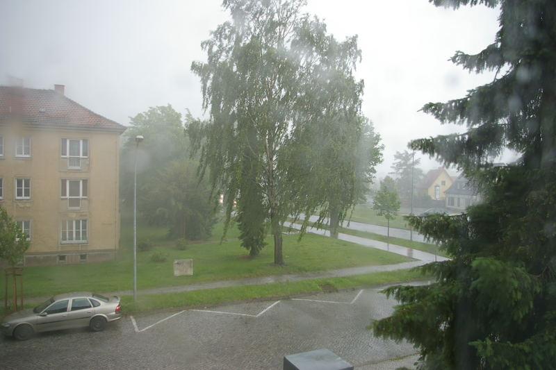 Unwetter im Mai