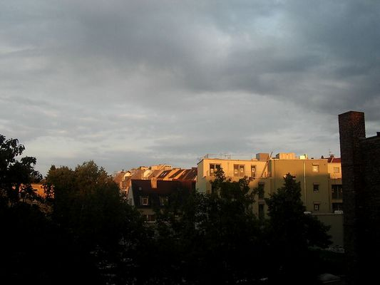 Unwetter in Köln