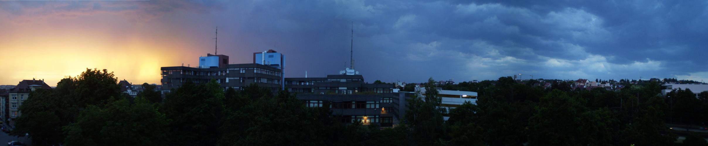 Unwetter-Panorama