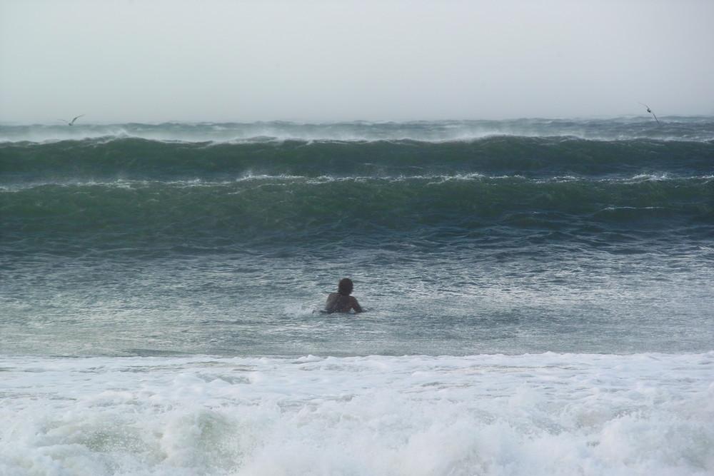Unwetter Surfer - Südafrika - Wellen