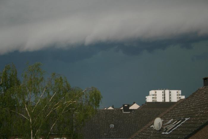 Unwetter über Düsseldorf 3