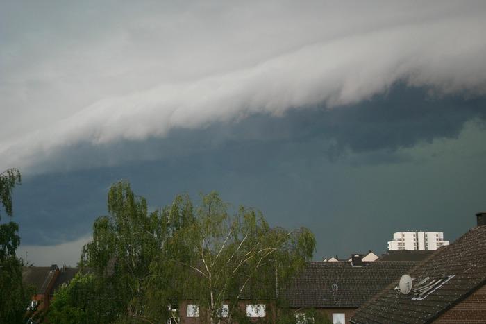 Unwetter über Düsseldorf 5