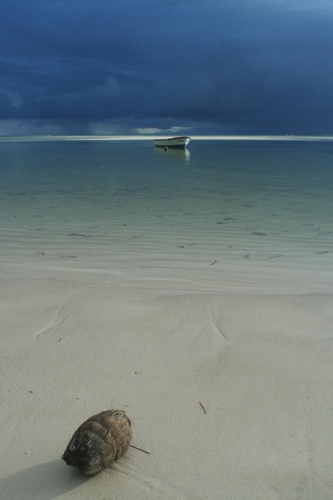Unwetter über Mahé 2, Grand Anse Praslin