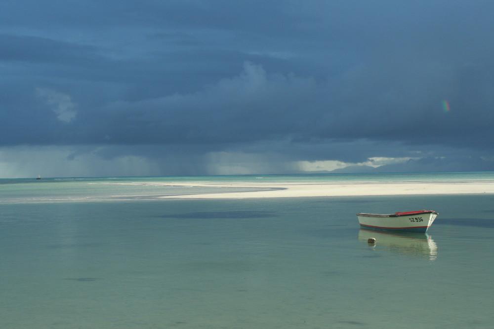 Unwetter über Mahé, Gran Anse Praslin