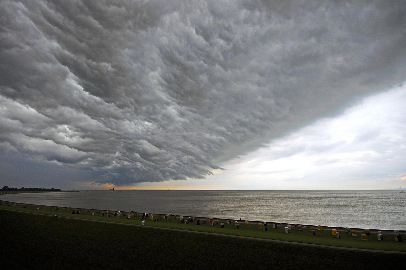 Unwetter Cuxhaven