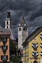 Unwetterstimmung in Kitzbühl