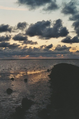 Unwirkliche Wolkenstimmung.....
