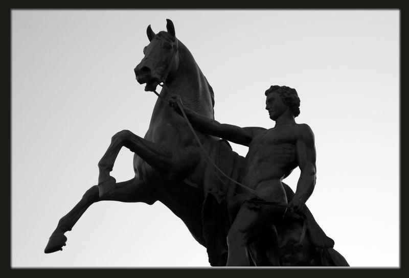 Uomo e cavallo