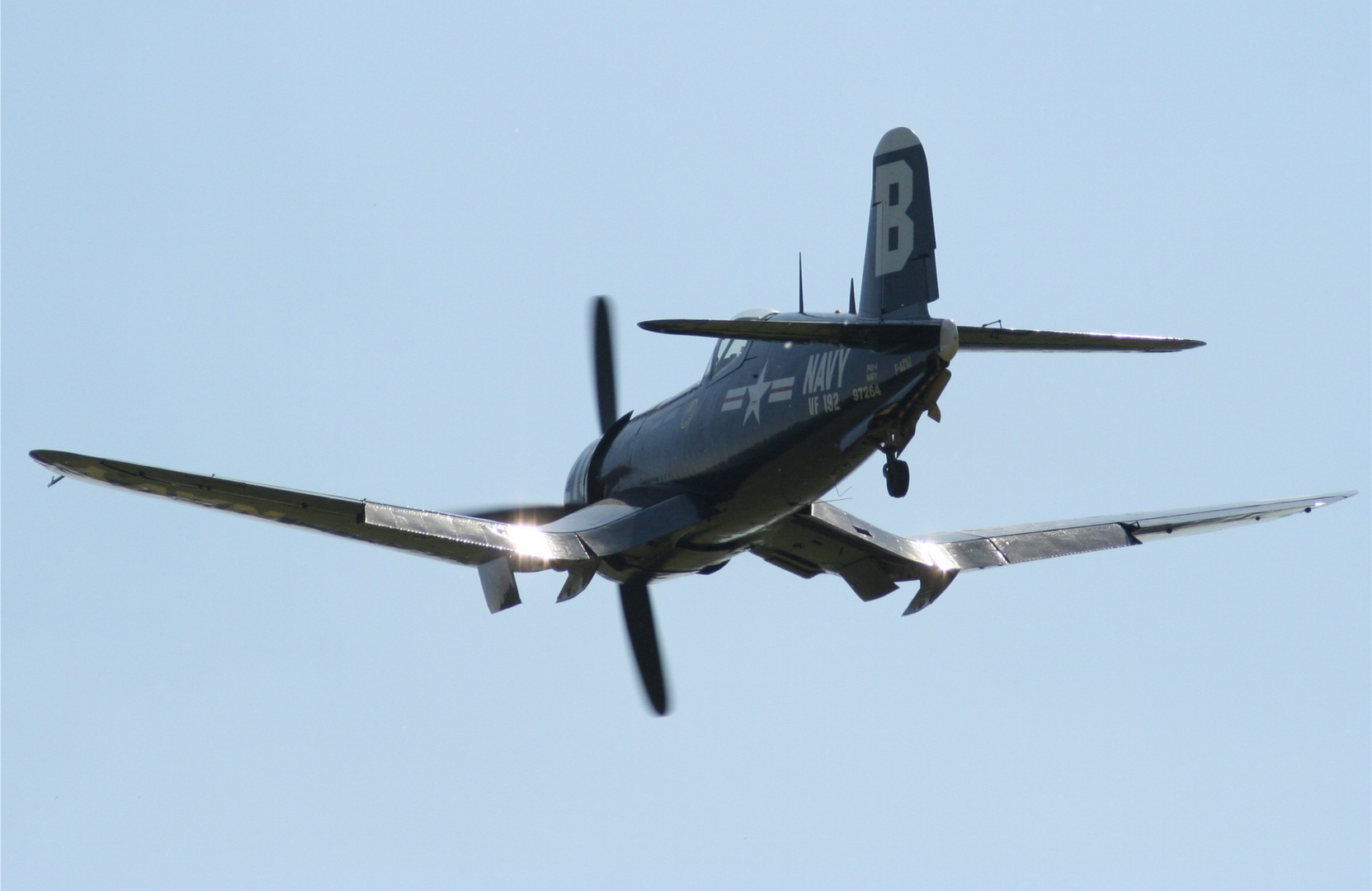 "Up and away: Die Chance Vought F4U ""Corsair"""