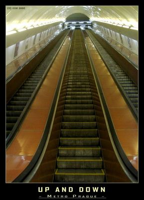 Up and Down - Metro Prague