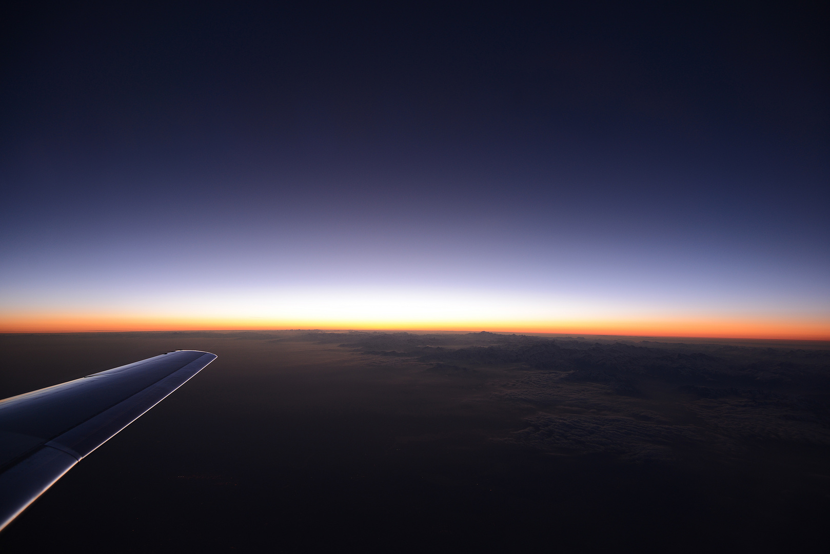 Up in the Air - Sunset